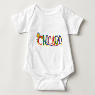 Chicago-With-SUn---KIDS Baby Bodysuit