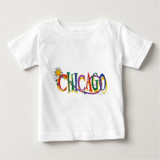 Chicago-With-SUn---KIDS Baby T-Shirt