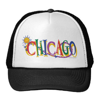 Chicago-With-SUn---KIDS Mesh Hat