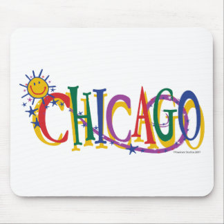 Chicago-With-SUn---KIDS Mouse Pad