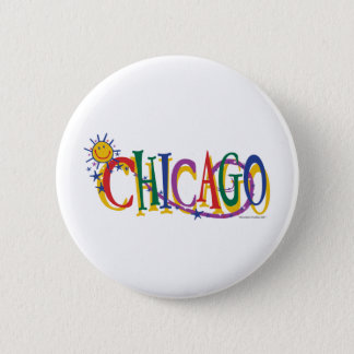 Chicago-With-SUn---KIDS Pinback Button