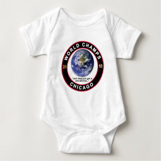 CHICAGO WORLD CHAMPS BABY BODYSUIT