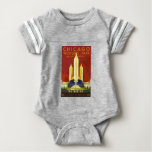 Chicago World Fair Vintage Baby Bodysuit