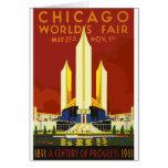 Chicago World Fair Vintage Card