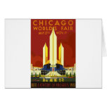 Chicago World Fair Vintage Card