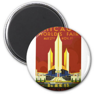 Chicago World Fair Vintage Magnet