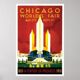 Chicago World s Fair 1933 Poster