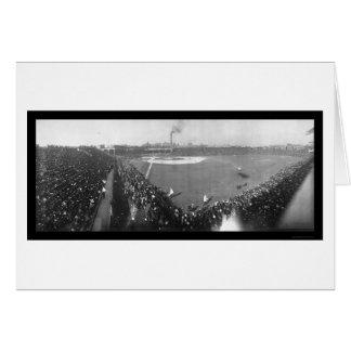 Chicago World Series Photo 1906 Card