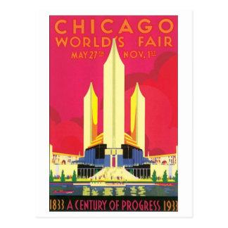 Chicago World's Fair, 1933 Postcard