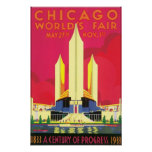 Chicago World's Fair, 1933 Poster