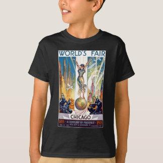 Chicago World's Fair 1933 - Vintage Retro Art Deco T-Shirt