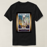 Chicago World's Fair 1933 - Vintage Retro Art Deco T-Shirt
