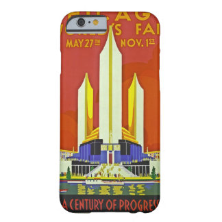 Chicago Worlds Fair 1933 Vintage Travel Art Barely There iPhone 6 Case