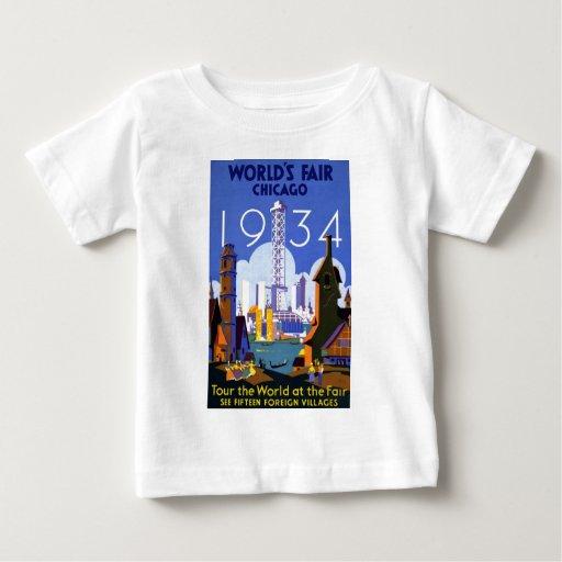 Chicago World's Fair 1934 Shirt