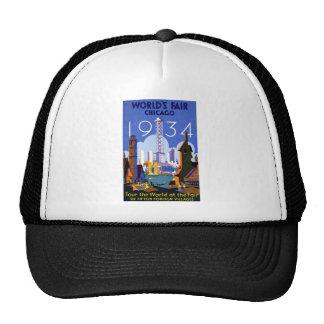 Chicago World's Fair 1934 Trucker Hat