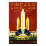 Chicago world's fair. A century of progress Card