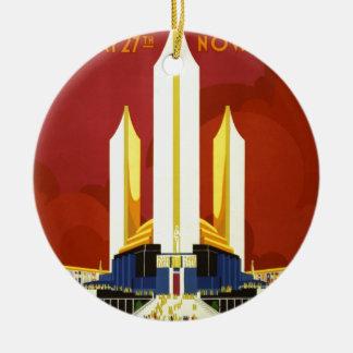 Chicago world's fair. A century of progress Ceramic Ornament