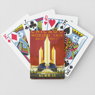 Chicago world's fair. A century of progress Card Deck