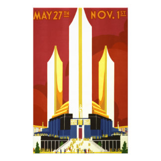 Chicago world's fair. A century of progress Stationery
