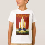 Chicago world's fair. A century of progress T-Shirt