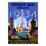 Chicago World's Fair American Vintage Travel