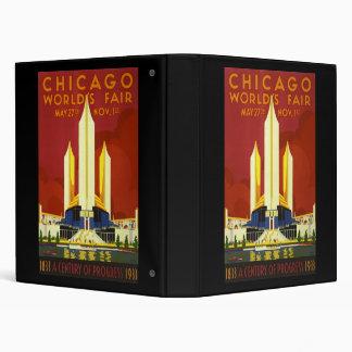 Chicago world's fair binder