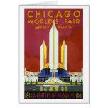 Chicago World's Fair Card