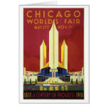 Chicago World's Fair Expo 1933 Card