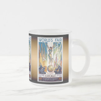 Chicago World's Fair Coffee Mugs