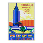 Chicago Worlds Fair Poster