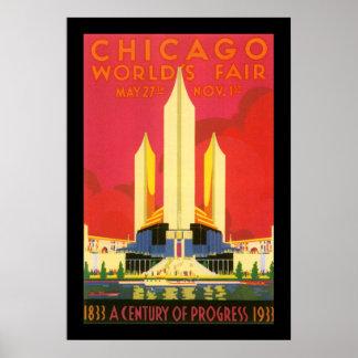 Chicago Worlds Fair Print