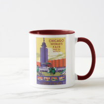Chicago World's Fair Poster 1933 Mug