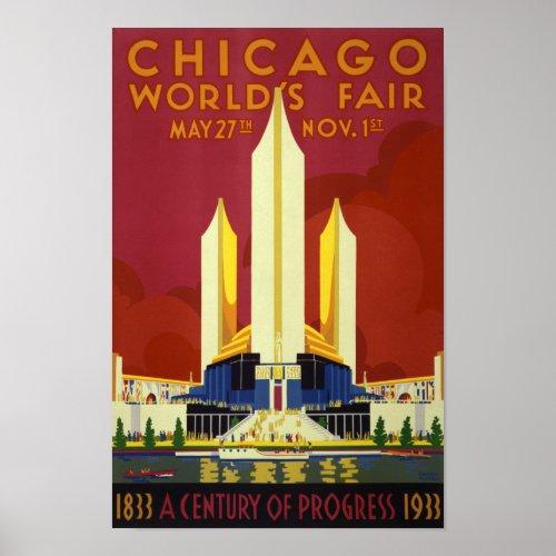Chicago World's Fair - Vintage 1933
