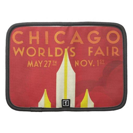 Chicago Worlds Fair Vintage Poster Planner
