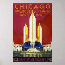 Chicago World's Fair Vintage Travel