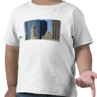 Chicago, Wrigley Building with Trump Hotel & Tees