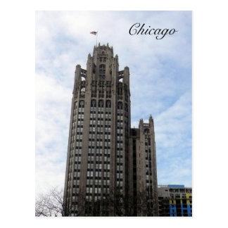 chicago wrigley postcard