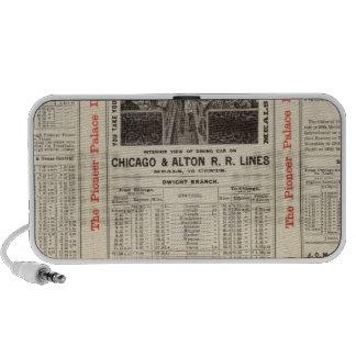 Chicago y ferrocarril 3 de Alton Altavoz