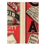 Chicago y ferrocarril de Alton Postal