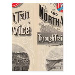 Chicago y línea occidental del norte postal