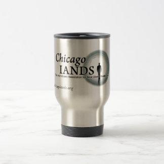 ChicagoIANDS Silver Travel Mug