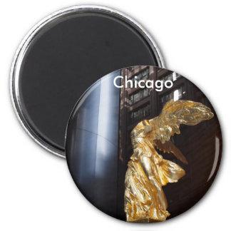Chicago's Angel 2 Inch Round Magnet
