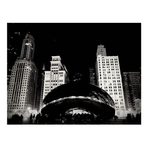 Chicago's Bean Post Cards