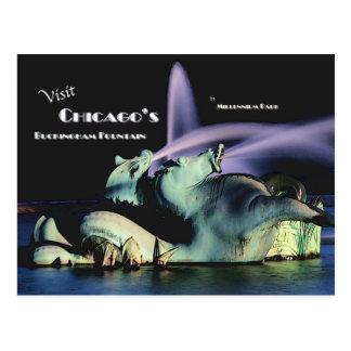Chicago's Buckingham Fountain Postcards
