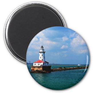 Chicago's Lighthouse Magnet