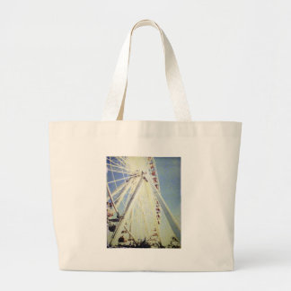 Chicago's Navy Pier Canvas Bags
