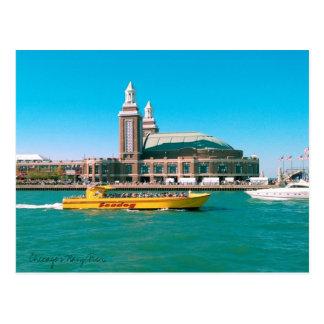 Chicago's Navy Pier Postcard