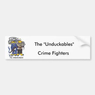 Chicago's Untouchables Car Bumper Sticker