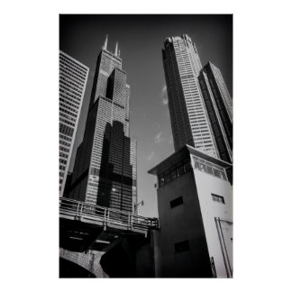CHICAGO's WILLIS TOWER Poster
