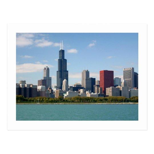 ChicagoSkyline Postcard